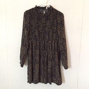 BRAND NEW Zara Beautiful Leopard Print Dress